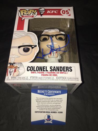 Jason Alexander Signed Official Colonel Sanders Funko Pop Vinyl Figure Beckett