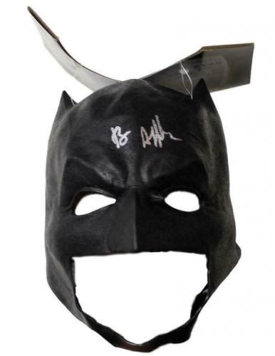 Ben Affleck Autographed/Signed Batman Rubies Soft Mask BAS 21504