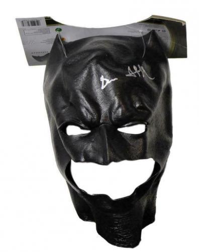 Ben Affleck Autographed/Signed Batman Rubies Soft Mask BAS 21503