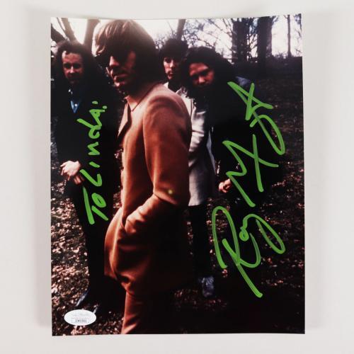 Ray Manzarek Signed 8×10 Photo The Doors – COA JSA