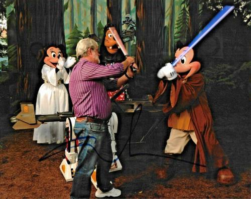 George Lucas Empire Strikes Back Disney Star Wars Signed Auto 8x10 Photo DG COA