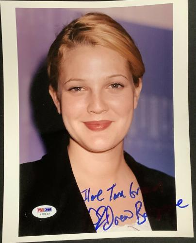 Drew Barrymore Signed AutographedThe Wedding Singer Glossy 8x10 Photo COA Matching Holograms