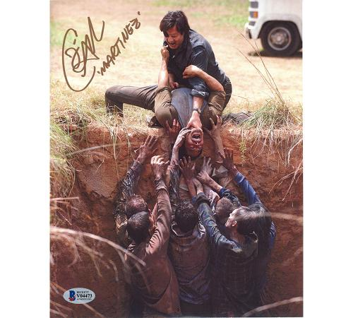 Jose Pable Signed The Walking Dead Unframed 8×10 Photo – Zombie Ditch