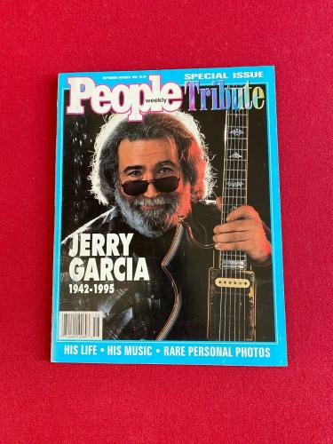 "1995, Jerry Garcia, ""People"" Magazine (No Label) Scarce / Vintage(Grateful Dead)"