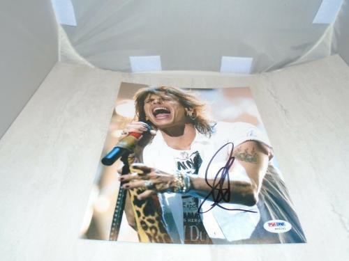 Steven Tyler Signed 8x10 Photo Autographed Aerosmith PSA/DNA COA 1B