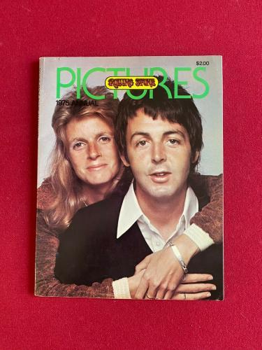 "1975, Paul McCartney (Beatles), ""ROLLING STONE PICTURES"" (No Label) Vintage"