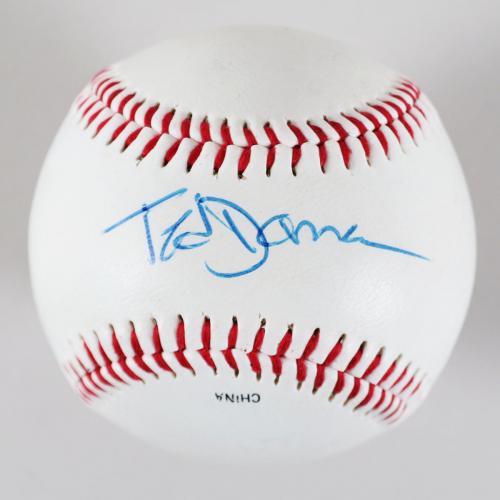 Ted Danson Signed Baseball Cheers – COA JSA