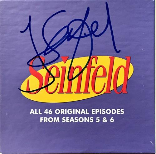 JERRY SEINFELD/JASON ALEXANDER signed PUFFY SHIRT Collectors Edition DVD set 5&6