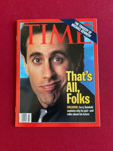 "1998, SEINFELD, ""TIME"" Magazine (No Label)  Scarce / Vintage"