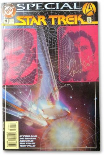 William Shatner Leonard Nimoy Signed Autographed Comic Book Star Trek JSA LOA