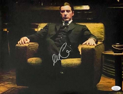 Al Pacino Michael Corleone Signed Autographed 11x14 Photo JSA  Godfather #5