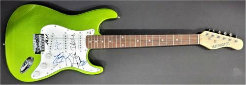 Big Bang Theory Cast Signed Autographed Guitar Parsons Cuoco Galecki JSA BB94009