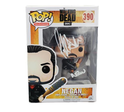 Jeffrey Dean Morgan Signed The Walking Dead Negan #390 Funko Pop!