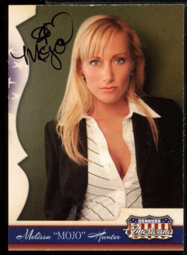 Melissa Hunter Card 2007 Donruss Americana #P-MH