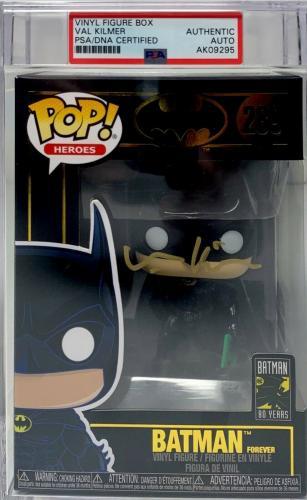 Val Kilmer Signed Batman Funko Pop Batman Forever PSA Slabbed Autograph AK09295