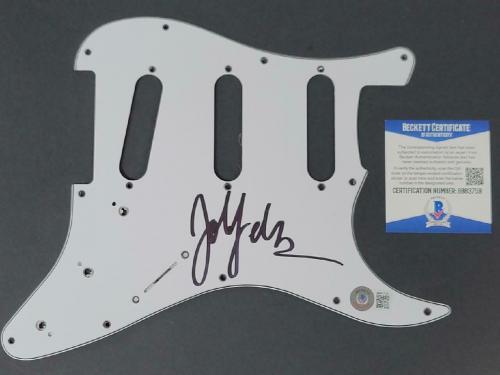 John Feldmann signed Guitar Pickguard Goldfinger Autograph (B) ~ Beckett BAS COA