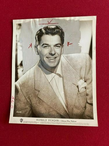 1953, Ronald Reagan, WB 8x10 Press Photo (Scarce / Vintage)