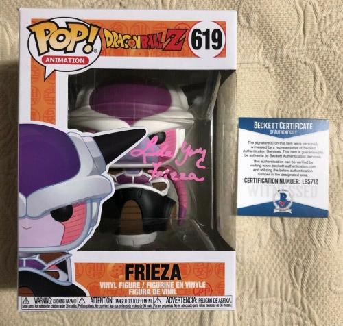 Linda Young Signed Autographed Frieza Funko Pop Dragon Ball Z BECKETT COA 37