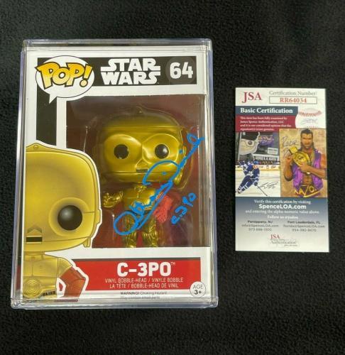 Anthony Daniels Signed Star Wars The Force Awakens Funko Pop Figure JSA COA