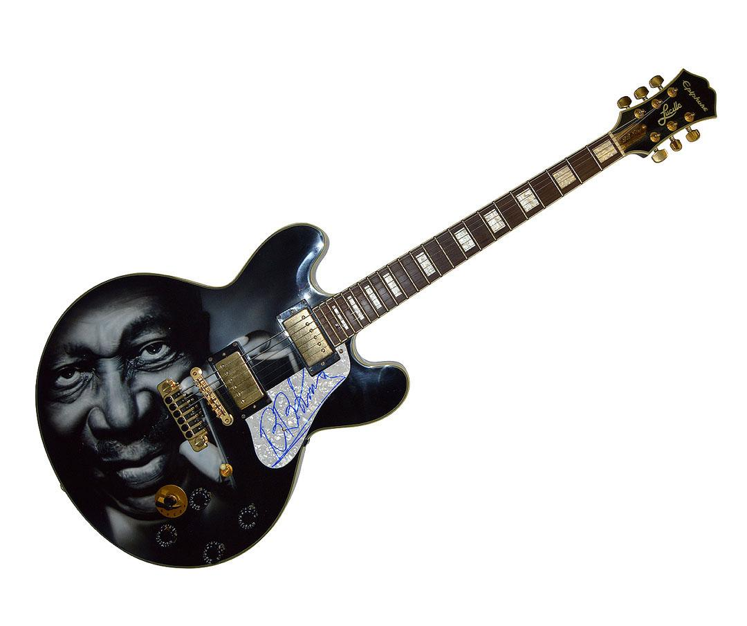 how to play bb king on guitar