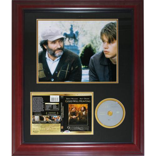 Robin Williams Autographed Good Will Hunting DVD Cover Deluxe Framed Piece - PSA