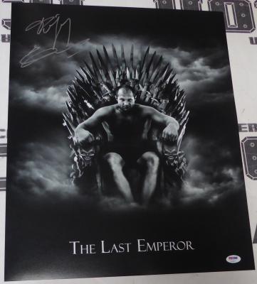 Fedor Emelianenko Signed 16x20 Photo PSA/DNA COA Game of Thrones Picture Pride
