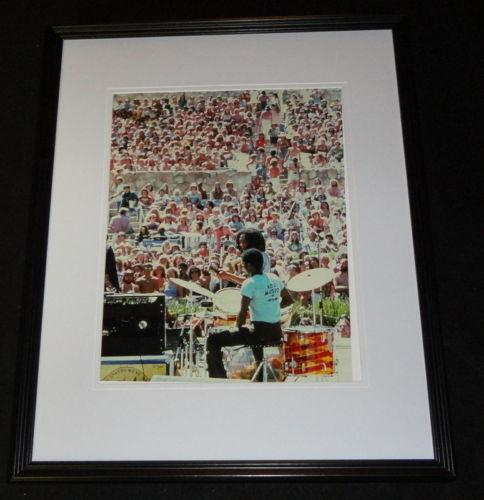 Bob Marley in Concert Framed 11x14 Photo Poster