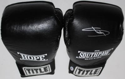 "Eminem ""Shady"" Signed Title Southpaw Boxing Glove PSA/DNA #AA01994"