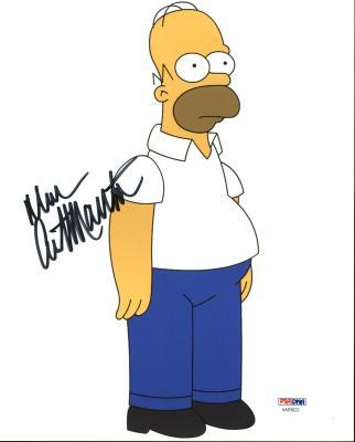 Dan Castellaneta The Simpsons Signed 8X10 Photo PSA/DNA #AA83623
