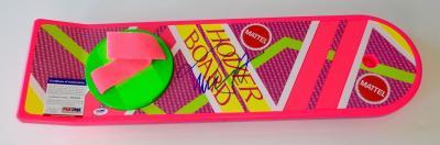 Michael J. Fox Marty Mcfly Signed Back To The Future Ii Psa Coa X67094