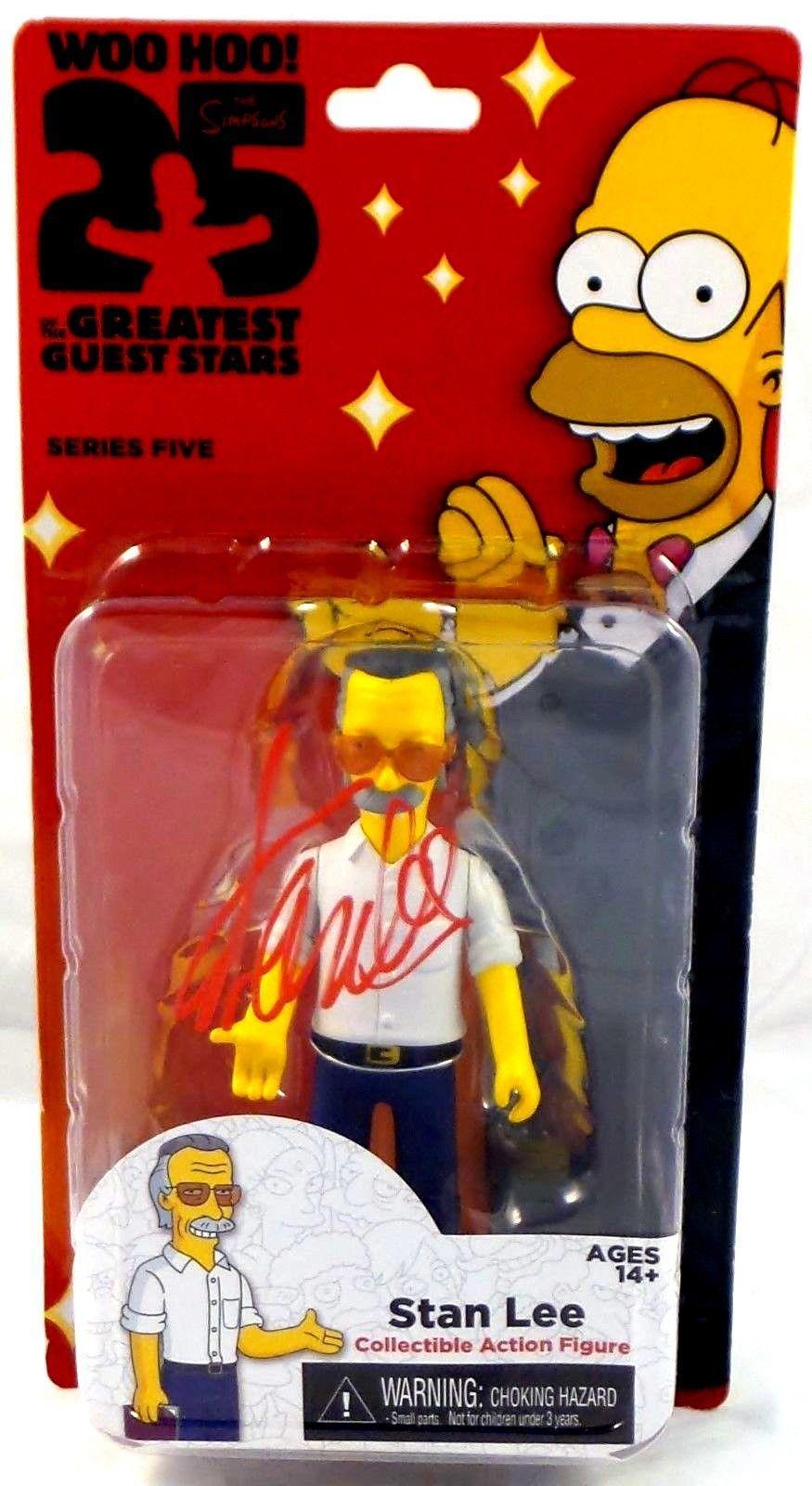Stan Lee Signed Autographed Stan Lee Simpson's Figure JSA Authenticated