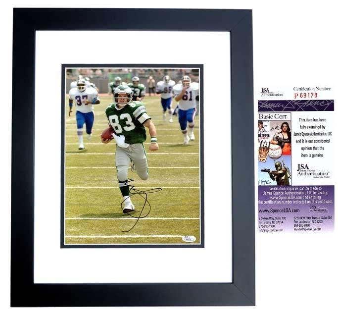 Mark Wahlberg Signed - Autographed 10x13 INVINCIBLE Photo BLACK CUSTOM FRAME as Vince Papale - JSA Certificate of Authenticity