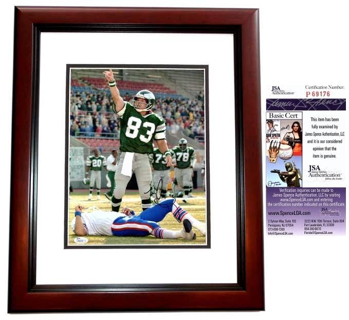 Mark Wahlberg Signed - Autographed INVINCIBLE 11x14 inch Photo MAHOGANY CUSTOM FRAME as Vince Papale - JSA Certificate of Authenticity
