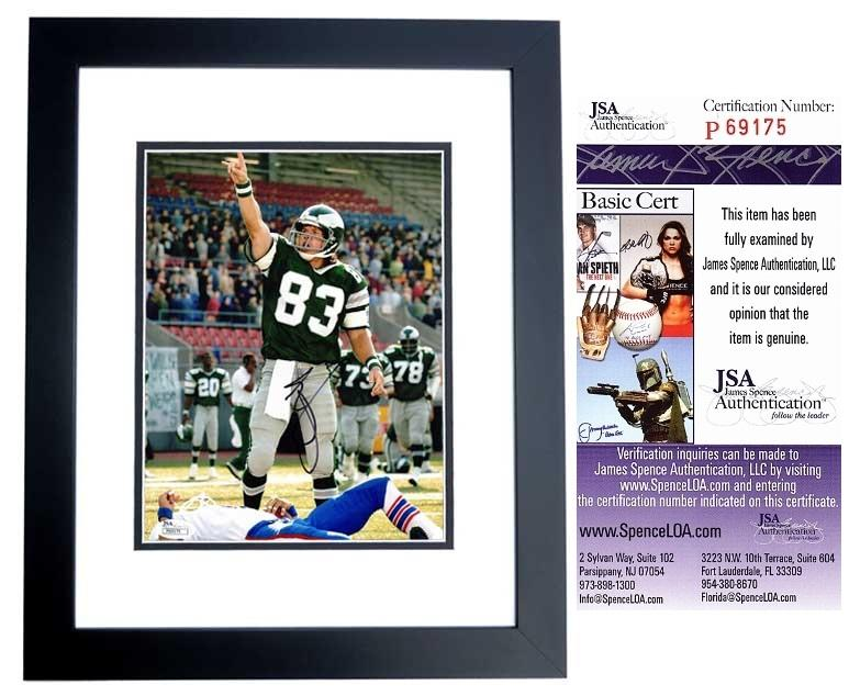 Mark Wahlberg Signed - Autographed INVINCIBLE 8x10 Photo BLACK CUSTOM FRAME as Vince Papale - JSA Certificate of Authenticity