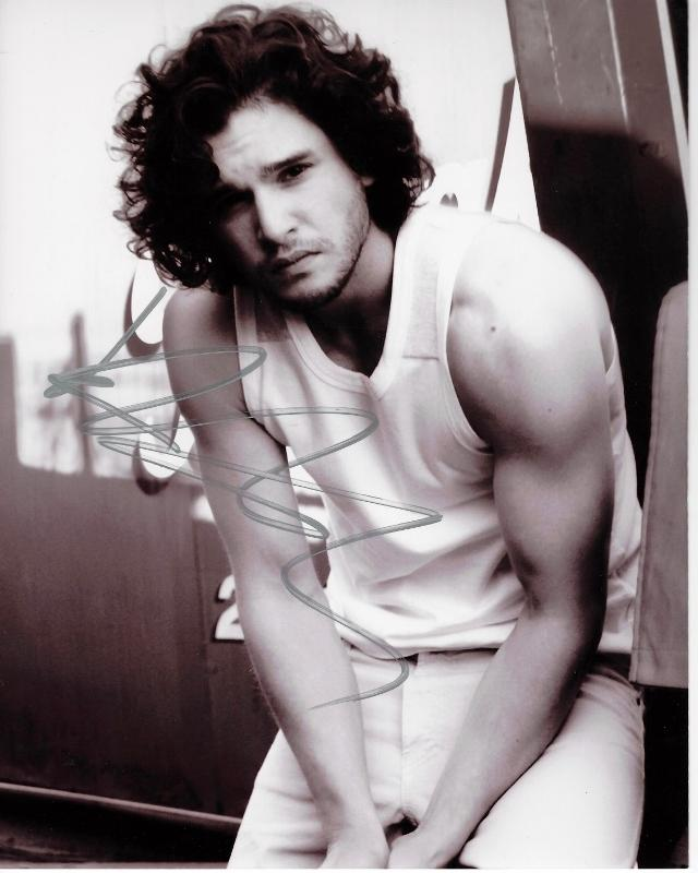 Kit Harington Signed - Autographed 8x10 inch Photo - Guaranteed to pass PSA or JSA - Game of Thrones actor - Jon Snow