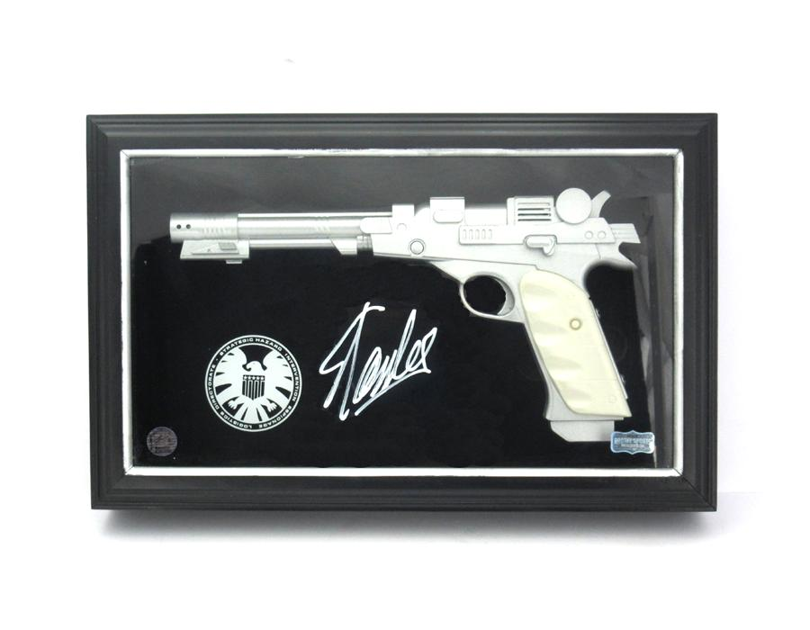 Stan Lee Signed Marvel Avengers Nick Fury Iconic Replica Pistol in Case