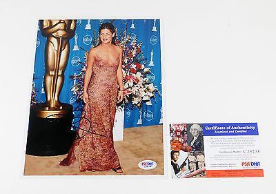 Sandra Bullock Signed 8 x 10 Color Photo Actress PSA/DNA Auto