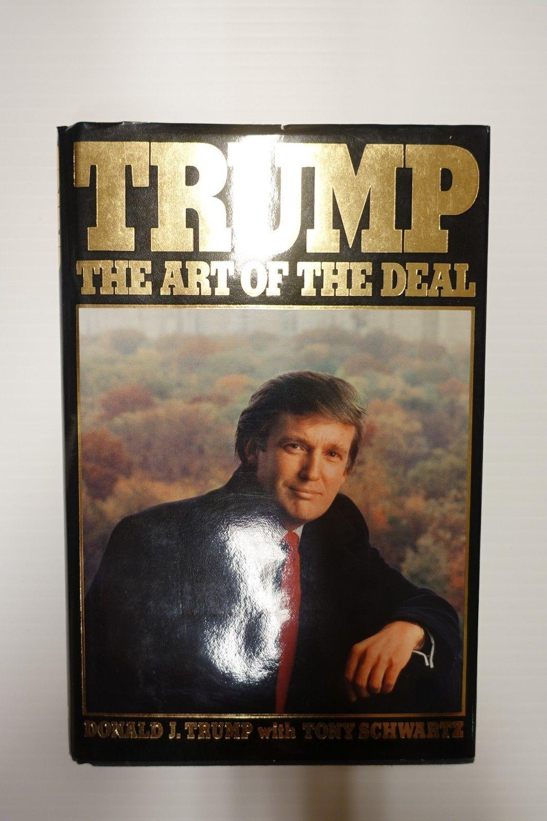 President Donald Trump Signed The Art Of The Deal True ...