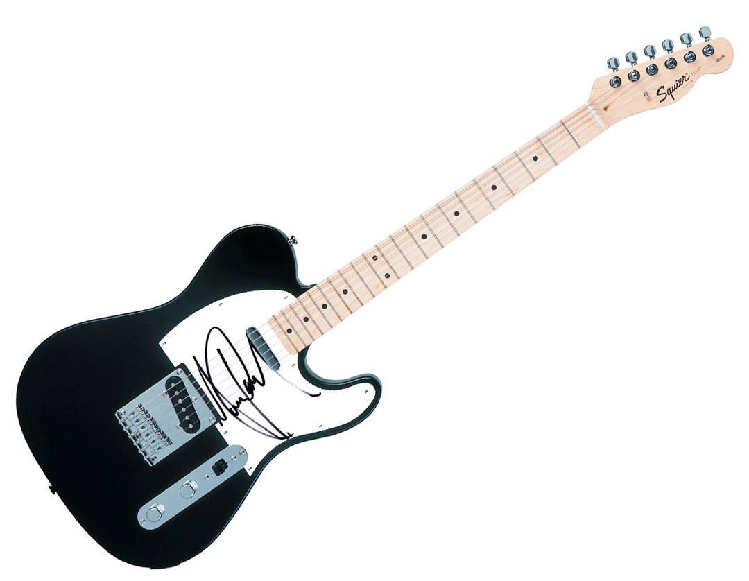 Michael Jackson Autographed Signed  Fender Tele Guitar Uacc Rd C AFTAL