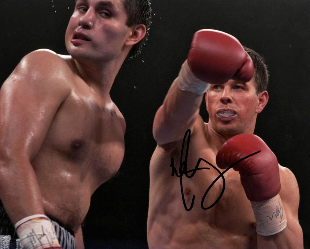 Mark Wahlberg Autographed Signed 8x10 Fighter Photo UACC RD AFTAL COA