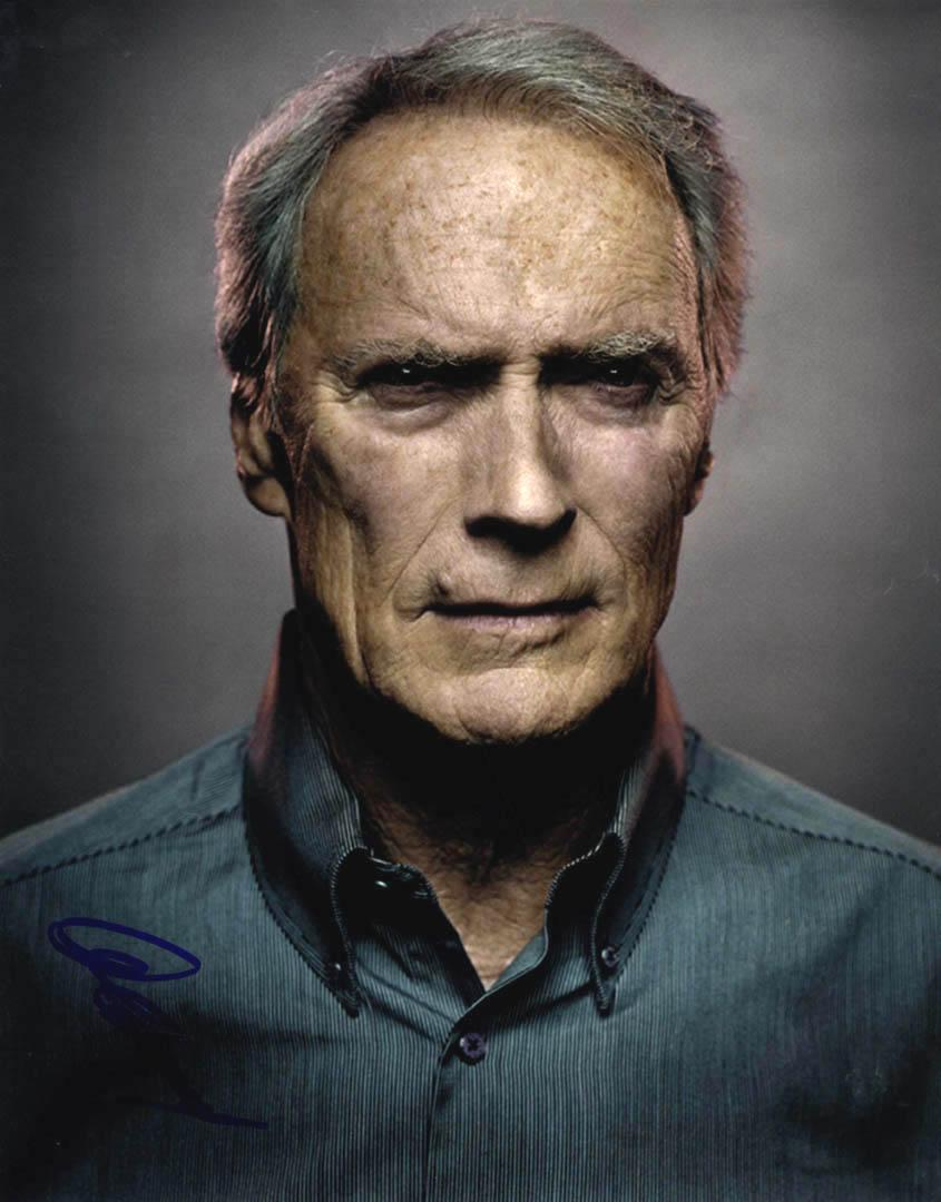Clint Eastwood Autographed Signed 11x14 Artistic Poster Photo UACC RD AFTAL COA
