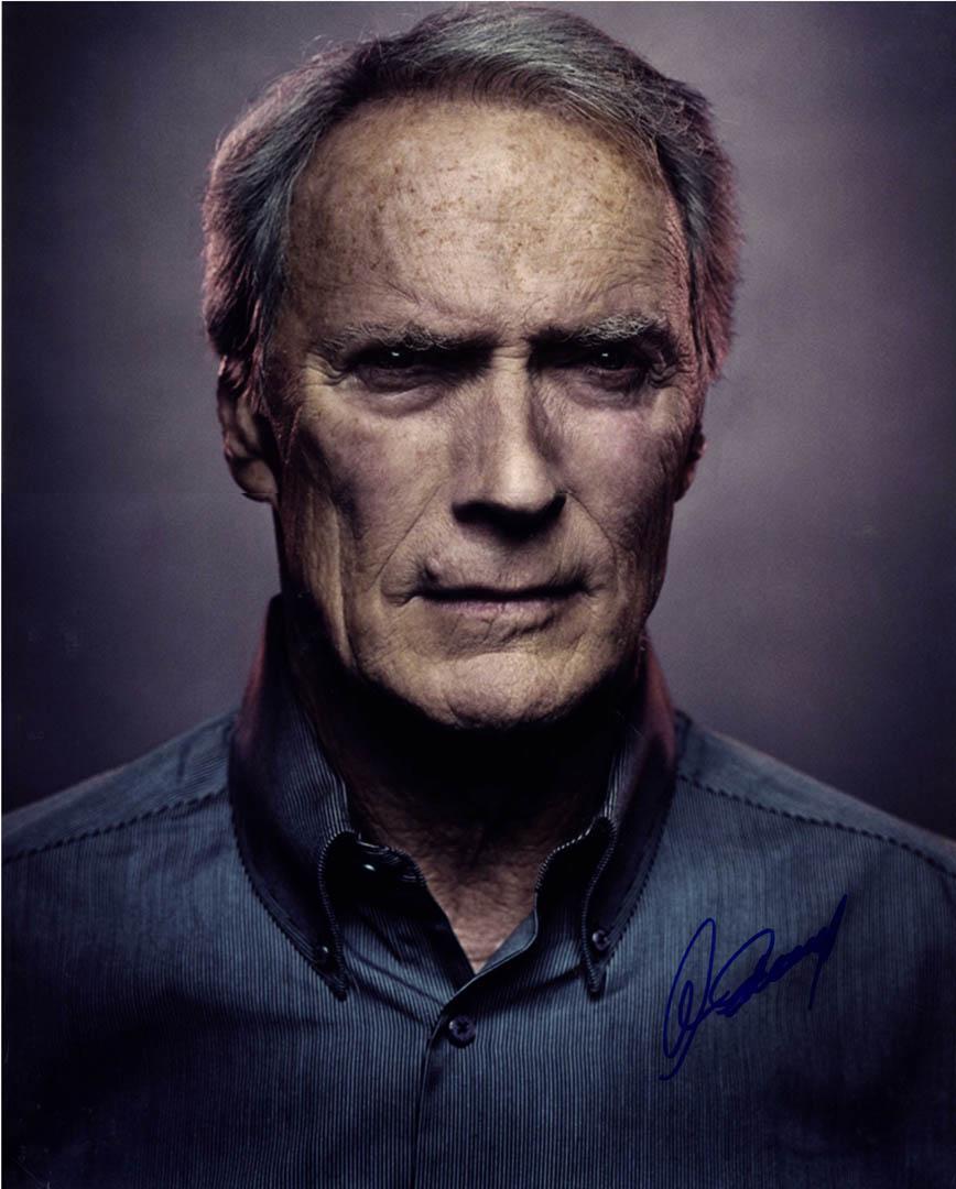 Clint Eastwood Autographed Gran Torino 16X20 Poster Photo UACC RD AFTAL COA