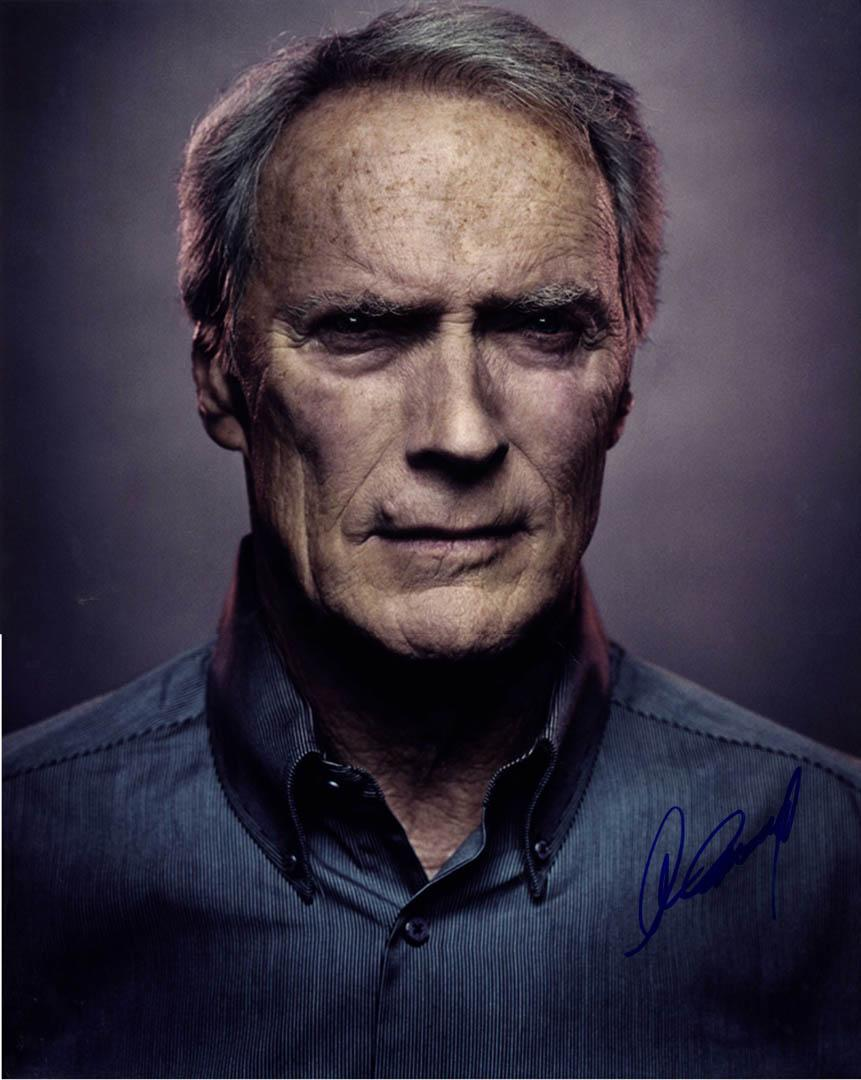 Clint Eastwood Autographed Signed 16X20 Poster Photo UACC RD AFTAL COA