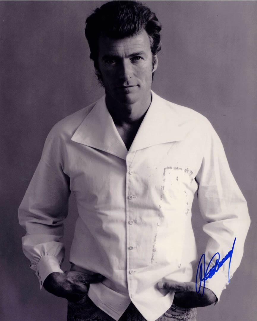 Clint Eastwood Autographed Signed Young 16X20 Poster Photo UACC RD AFTAL COA