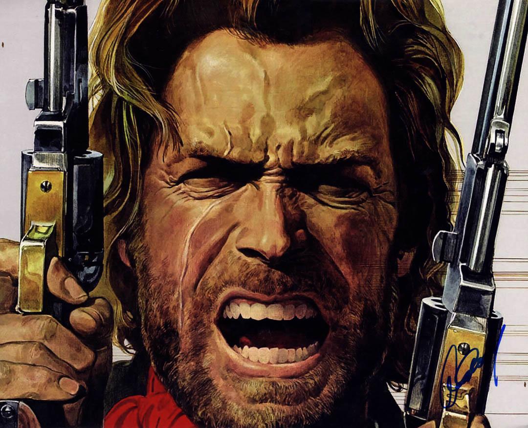 Clint Eastwood Autographed Josey Wales 16X20 Poster Photo UACC RD AFTAL COA