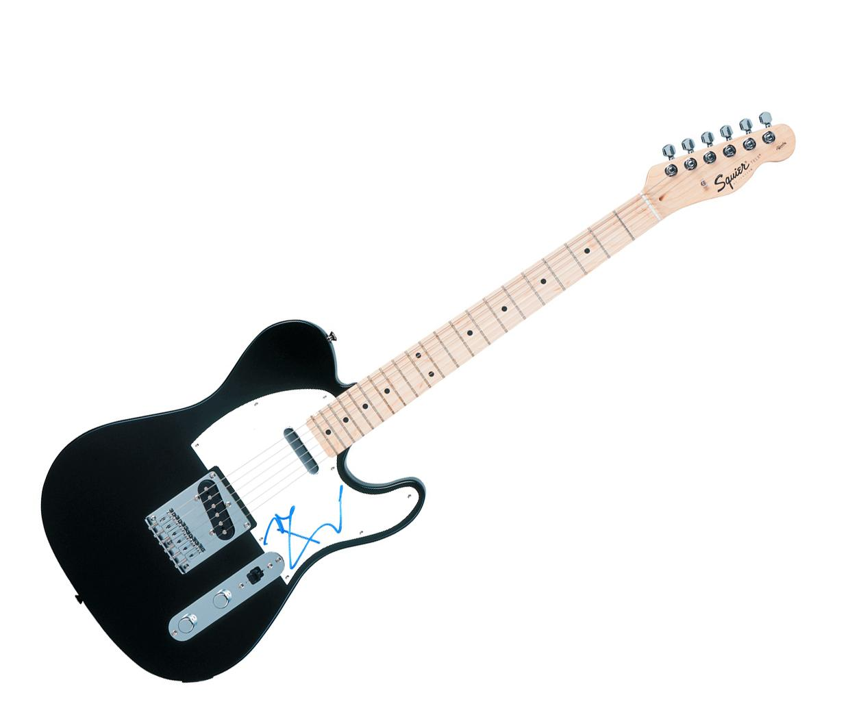 The Who Pete Townshend Autographed Signed Fender Tele Guitar AFTAL