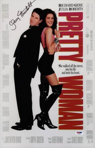 Garry Marshall Signed Pretty Woman 11x17 Movie Poster Psa Coa Ad48103