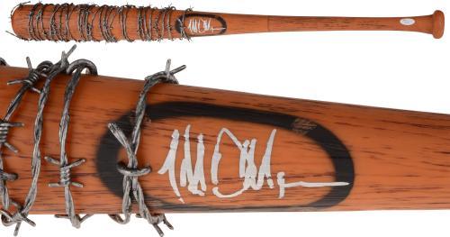 Jeffery Dean Morgan Autographed Walking Dead Lucille Bat - JSA