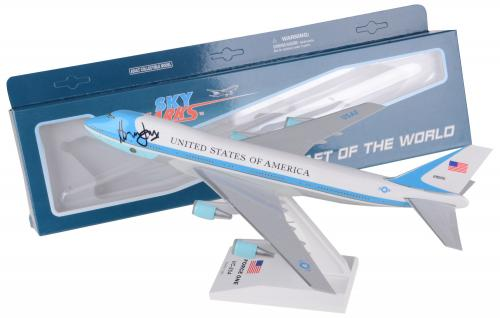 Harrison Ford Air Force One Autographed Model Plane - BAS
