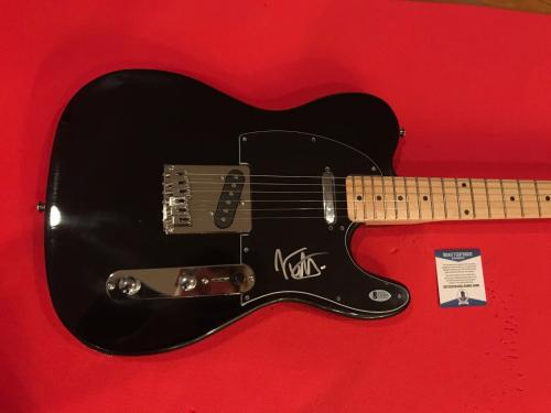Joe Elliot Def Leppard Signed Autographed Electric Guitar BAS COA